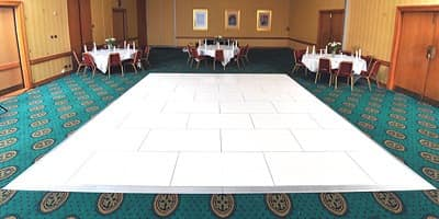 Pubfloor, Modular platforms for indoor and outdoor, with panels and profiles