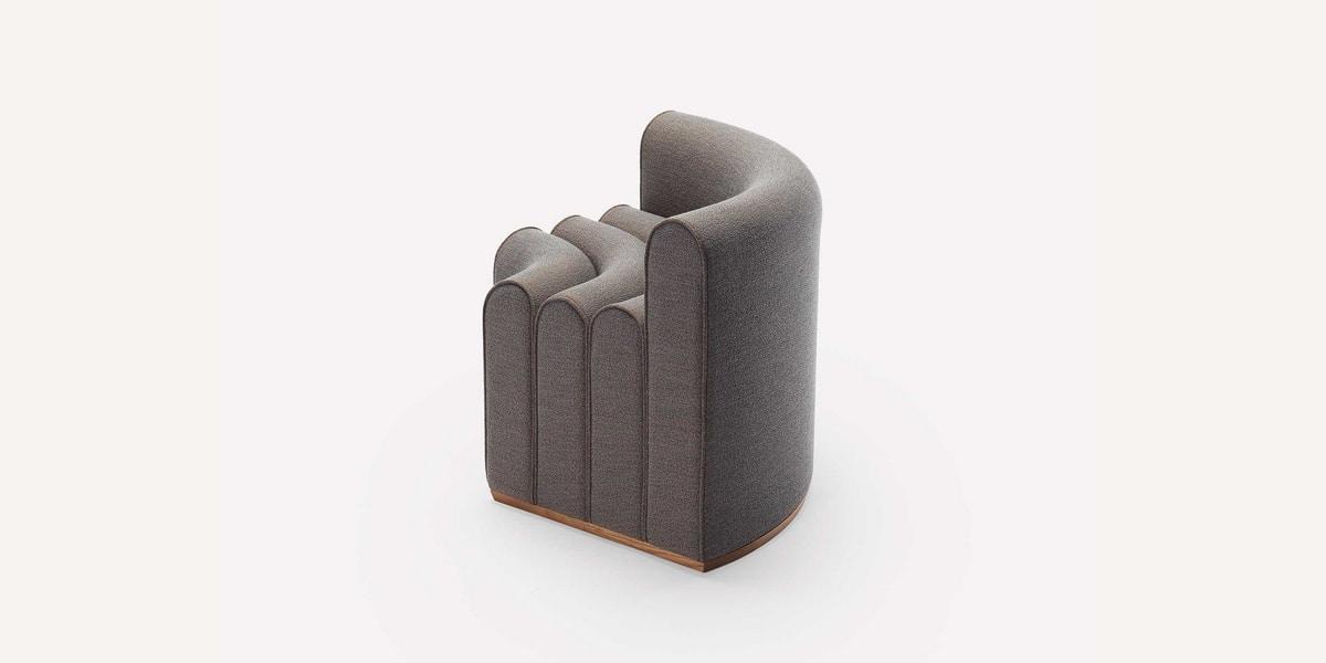 Arkad B Corner, Modular seat with backrest