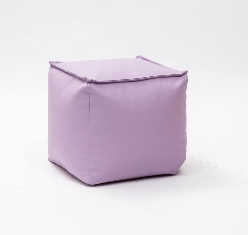 Art. 830 Dado, Pouf in removable eco-leather, high quality