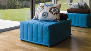 Chick pouf, Pouf convertible into a bed