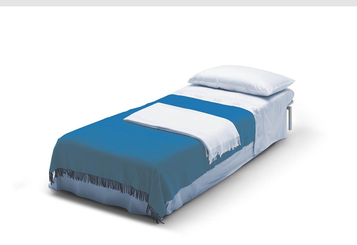 Chick pouf, Pouf convertible into a bed