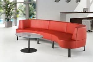 ZEN 731 - 732, Modern modular sofa ideal for bars and hotels