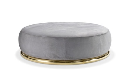 Abbracci Ottoman, Round pouf