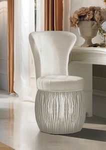 Art. 2124, Round pouf with backrest