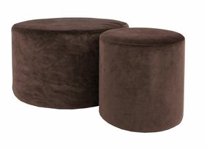 Art. NS0004 - NS0009, Pouf with round seat