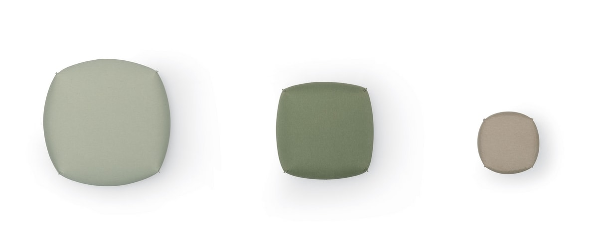 Brioni outdoor pouf, Outdoor pouf collection