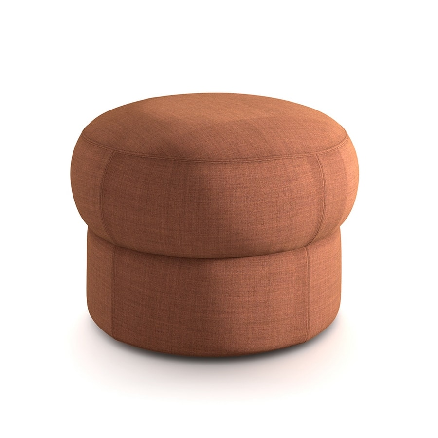 Cèpe S, Round padded pouf