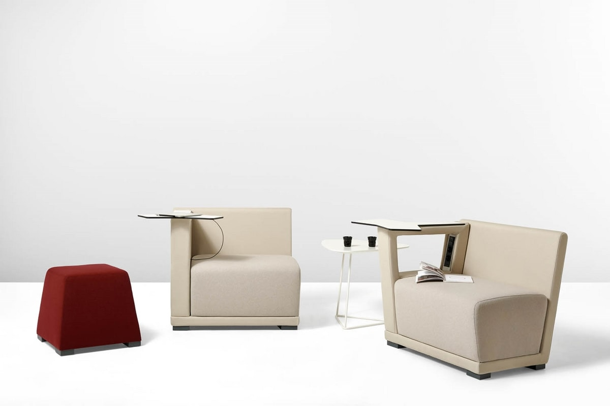 Circuit pouf, Perfect poufs to furnish lounge areas