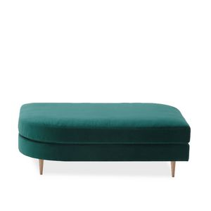 Délice 01055, Padded rectangular pouf