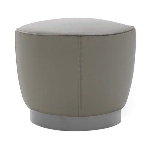 Diadema 04010 - 04011, Round pouf available with feet