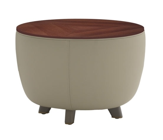 Diadema 04013, Pouf coffee table with feet