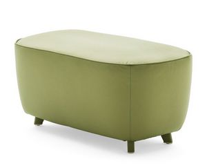 Diadema 04030 - 04031, Rectangular ottoman with feet