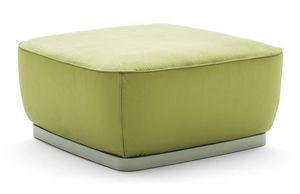 Diadema 04050 - 04051, Square pouf with closed base