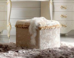 Diamante Art. 2122, Fully upholstered pouf