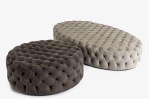 Jay, Pouf with capitonn� padding
