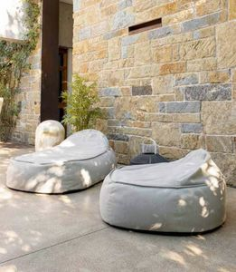 OLIVIA, Soft outdoor poufs