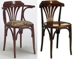 121TS, Bentwood chair, for wine bar and beer house