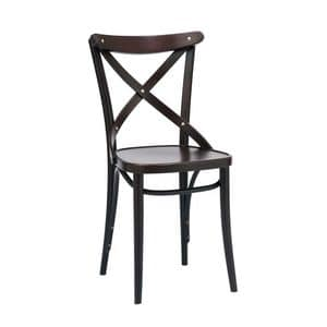 150 chair, Chair with old-fashioned d�cor, for restaurant