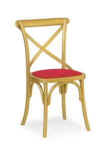 Ciao Imb, Chair made of solid wood, in various colors