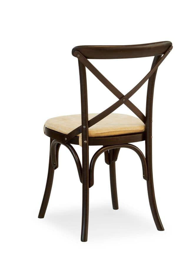 Ciao Pill, Chair in solid wood, various coatings