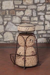 Art. 627, Stool shaped like a champagne cork