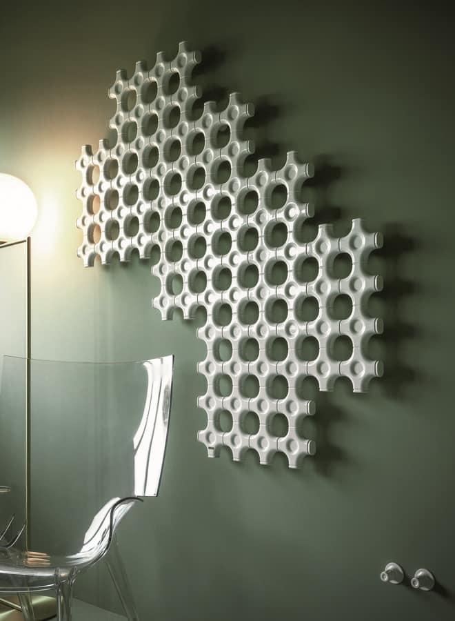 Add-On, Radiator for bathroom, custom-size, customizable form