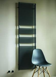 Color X, Towel warmer in carbon steel, various colors available