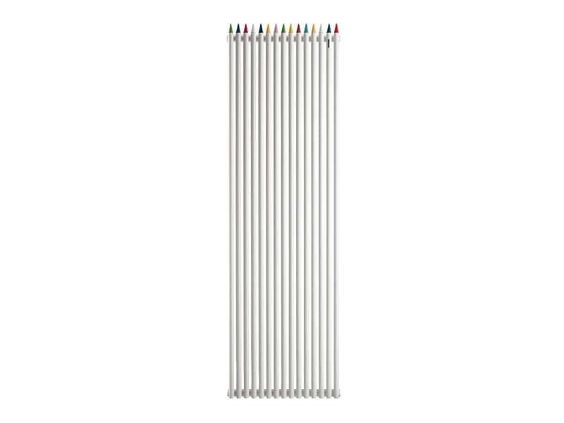 Matitone, Radiator with playful style, for kindergartens and schools