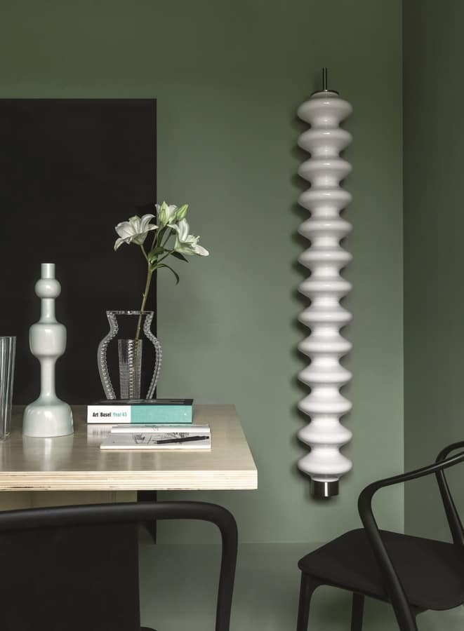 Milano, Very smart radiator with modern shape, freestanding
