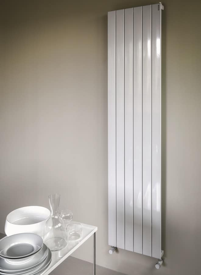 Planet, Radiator with modern line, horizontal, for house