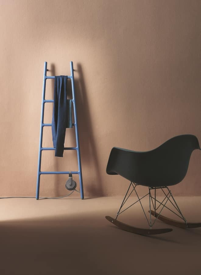 Scaletta, Stairs shape radiator, with electric power supply