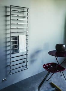 Smart, Towel warmer in steel, available in all RAL colors
