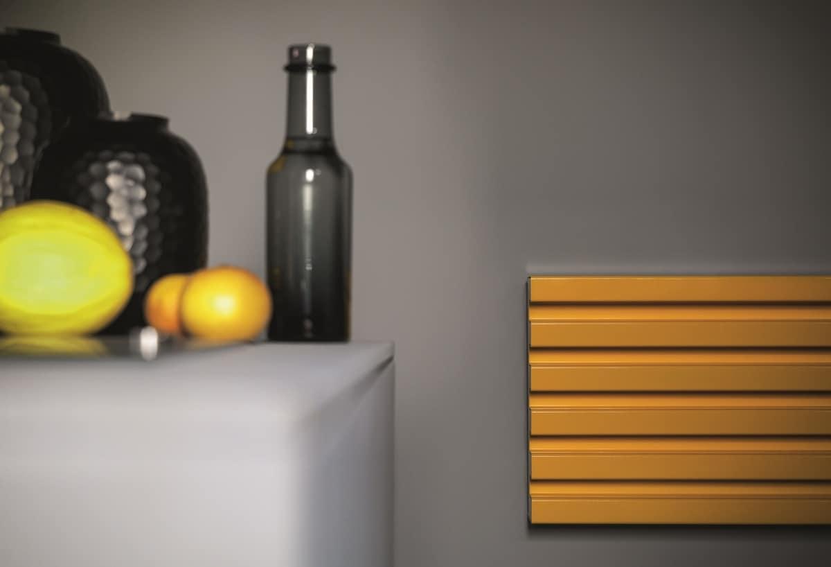 Soho, Wall radiator, with a contemporary design