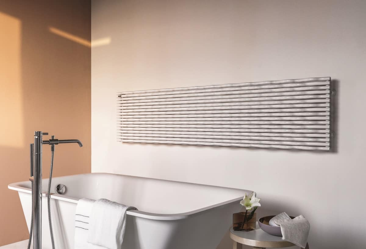 Trame, Radiator with modern design, available in different colors
