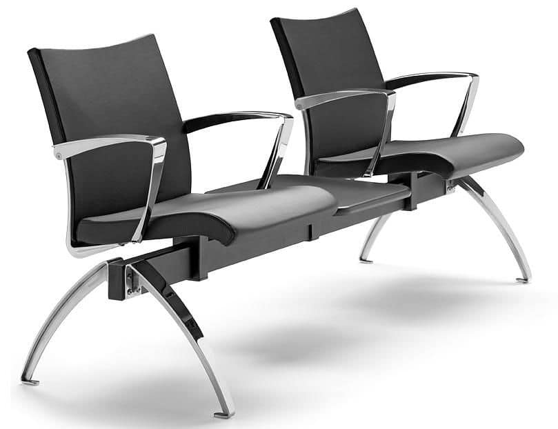 AVIA 4400B2T + OPT, Bench with two seats and 1 table ideal for waiting rooms