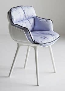 Choppy BP, Design armchair in polymer, for waiting room