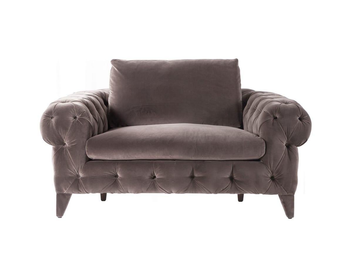 Chrysler armchair, Fully upholstered armchair