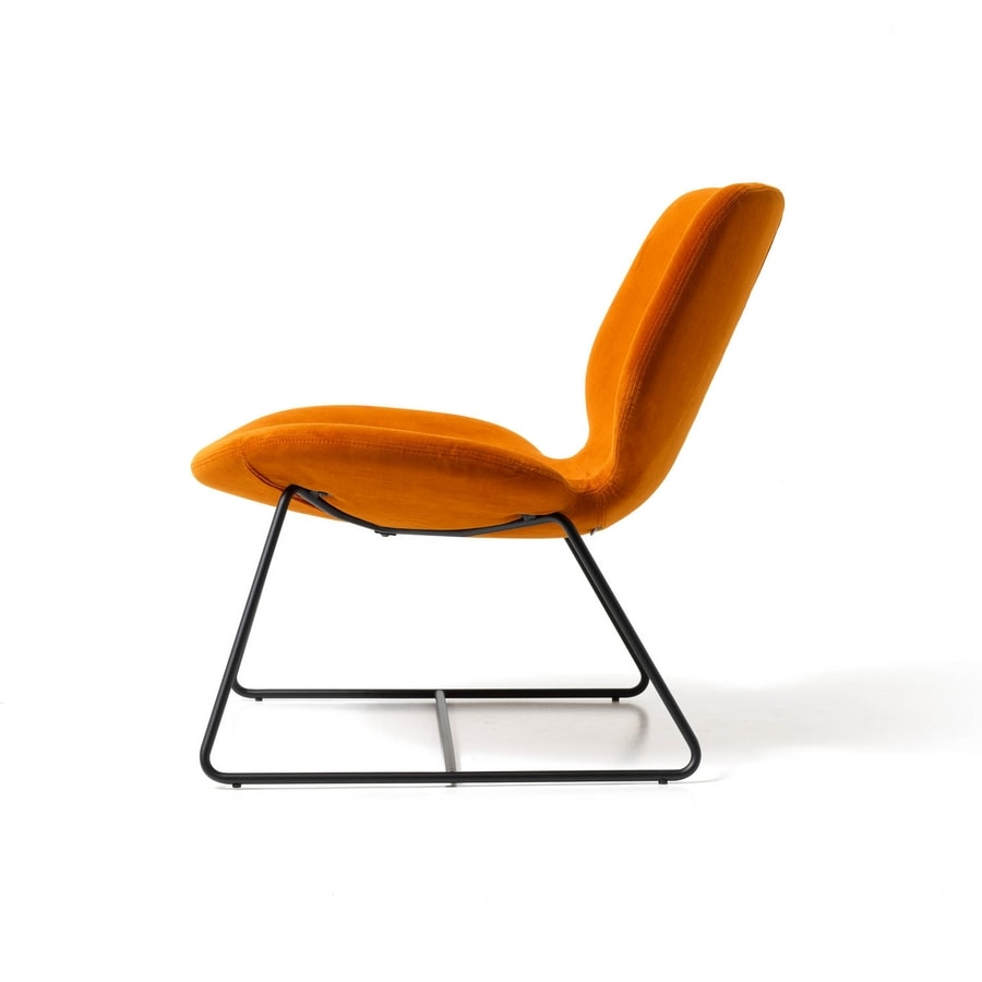 Eon lounge sled, Lounge armchair for offices and hotels