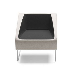 ITACA, Armchair with sled base for waiting rooms