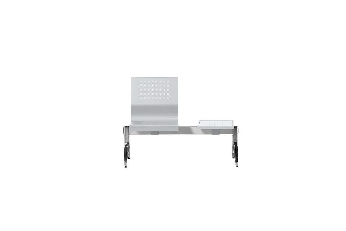 Korus Alu, Sitting on a steel beam, aluminum legs