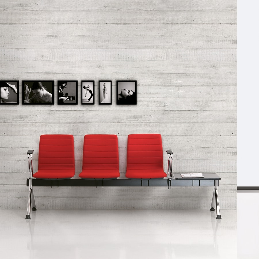 Q2 bench, Padded bench for waiting areas