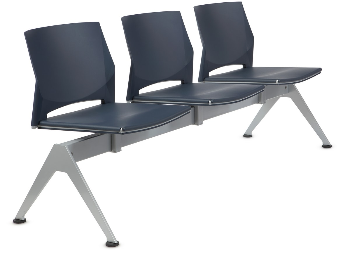 TREK 042/B3, Seat on beam with three seats