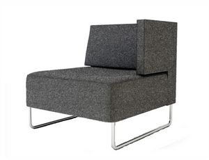 Urban 835 1BL 1BR, Modular armchair with single armrest