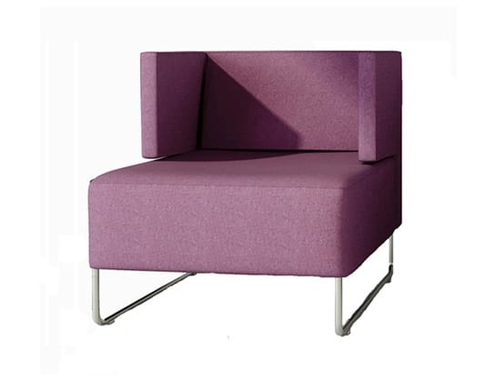 Urban 835, Modern armchair for waiting