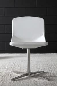 Formula40 x-foot, Elegant chair with clean design, fireproof padded seat and backrest