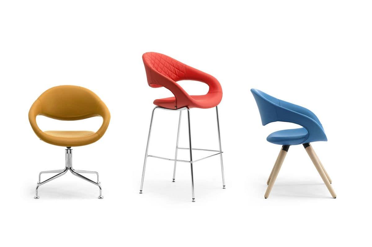 Samba self-aligning 51500, Self-aligning swivel chair, modern style