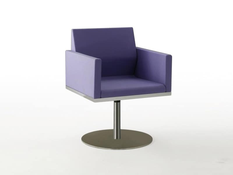 Tre-Di 9980, Armchair with central column made of steel