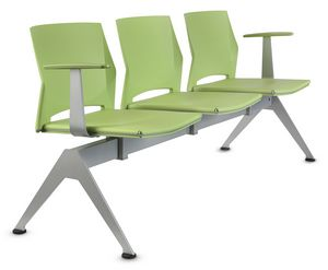 TREK 042/B3 + OPT, Waiting benches with armrests