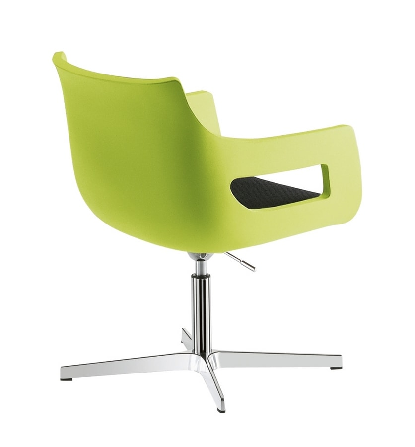 Day&Night, Polyethylene chair, adjustable in height