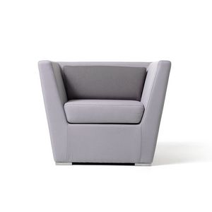 Double, Stylish leather armchair, approachable, for hotel suites